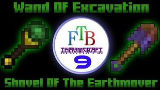 Wand Of Excavation Shovel Of The Earthmover Thaumcraft 3 FTB LITE Tutorial 9