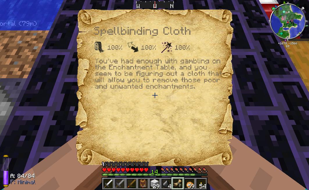 Spellbinding Cloth | Thaumcraft 3 Wiki | FANDOM powered by Wikia