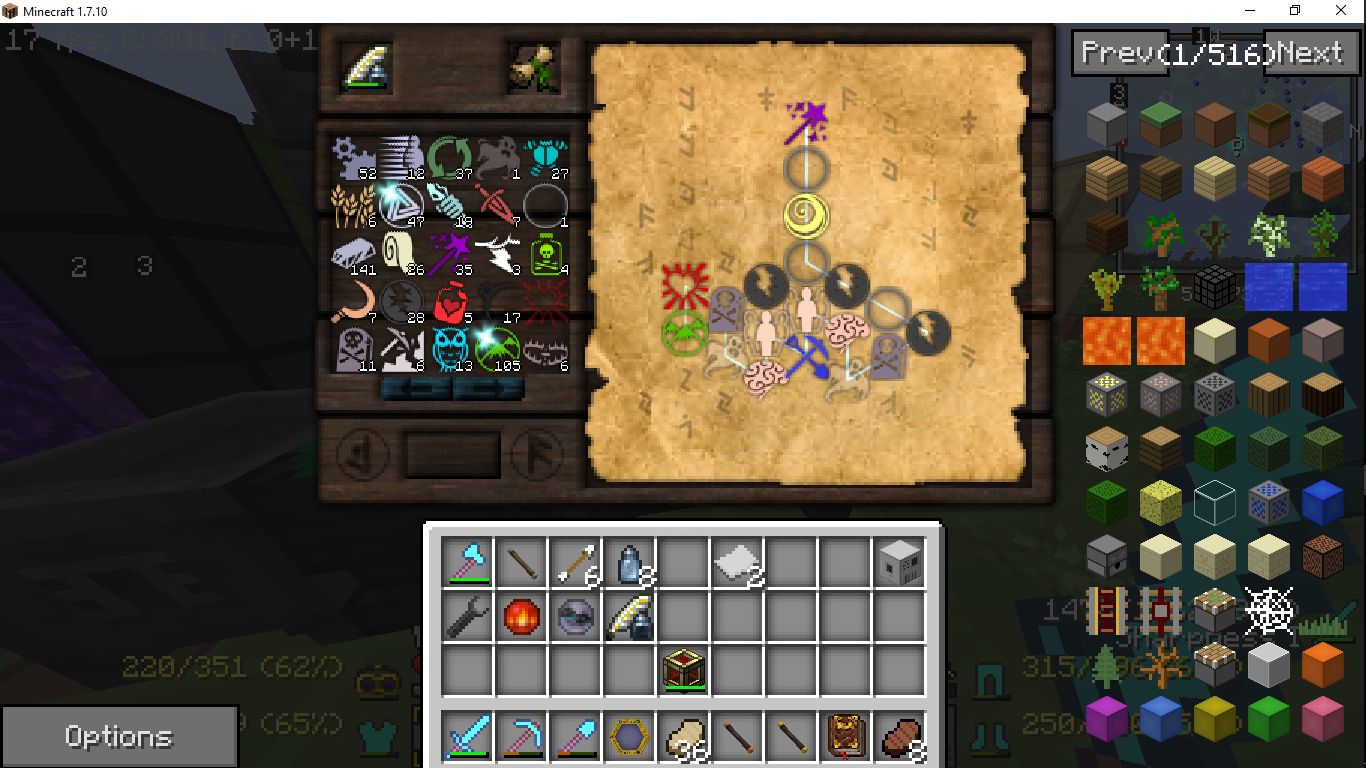image wand focus excavation research recipe png thaumcraft 4