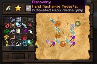 Wand Recharge Pedestal
