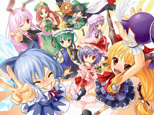 Touhou Characters