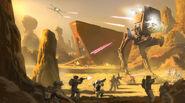 Galactic battle civil