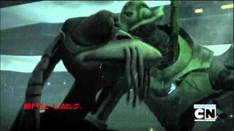 "Clone Wars ""Shadow Warrior"" Grievous vs. Gungans rescored-0"