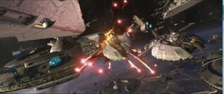 Eafth fleet fights itself