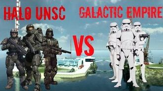 Garry's Mod NPC Wars Halo UNSC vs Star Wars The Galactic Empire