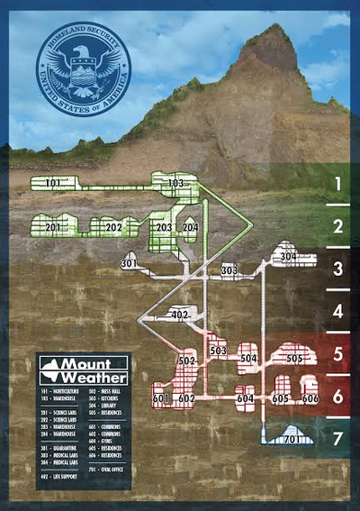 Carte Mount Weather