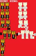Bony Ring NES spritesheet