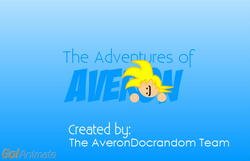 The Adventures of Averon title card