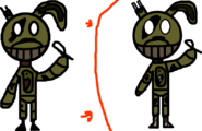 Springtrap-USE RIGHT ONE-