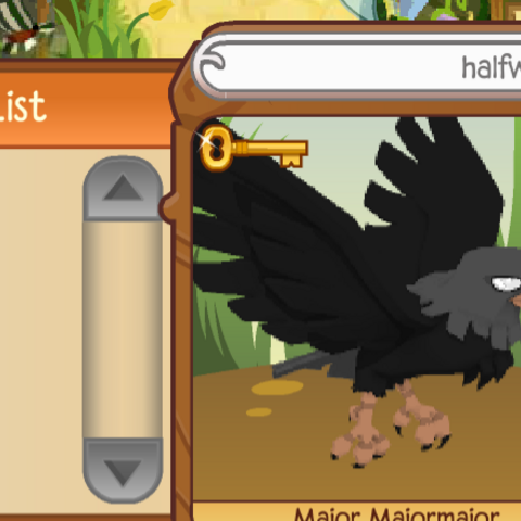 Here halfwing no longer has the necklace, only the spike