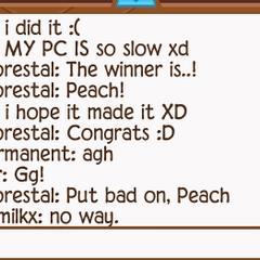 Peach winning again