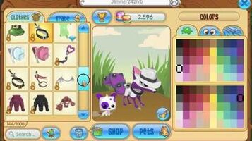 Animal Jam -- getting scammed out of my purple beta tail that i just traded for