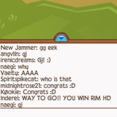 Vaeity winning RIM HD