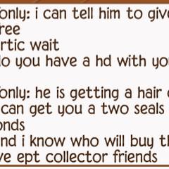 Seal scam