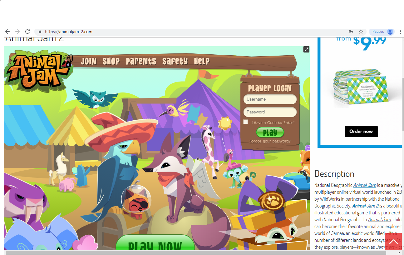 Fake Animal Jam Homepage Scam | The AJ Scammer Watch Wiki