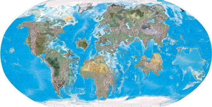 Neocene Map