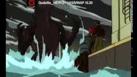 GODZILLA® THE SERIES (1998-2000) - VIASAT6 Promó