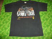 Godzilla movie t-shirt0