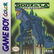 Godzilla the series gameboy