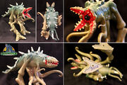 TRENDMASTERS Unreleased Animated Godzilla the Series DARK GREEN C-Rex Prototype