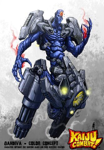 File:Kaiju combat gandiva by kaijusamurai-d5rr4kp.jpg