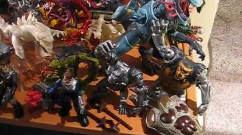 TRENDMASTERS Animated GODZILLA THE SERIES UNRELEASED PROTOTYPES PART 2