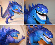 TRENDMASTERS Unreleased Ultimate Animated Godzilla the Series Prototype