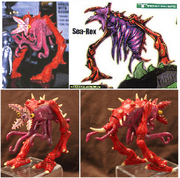 Trendmasters Animated Godzilla The Series Unreleased Collection of Figures and Prototypes and Collectibles9..