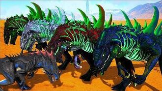 Reaper King Do Deserto, Exercito de Godzilla ! ARK SURVIVAL EVOLVED Rodrigo