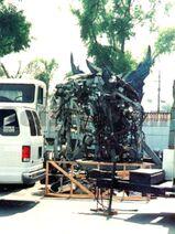 Godzilla 1998 Animatronic Goes to Waste