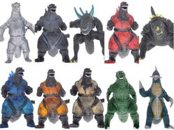 Godzilla samlar figurer set2