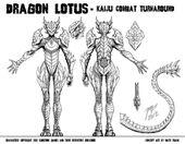 The Beautiful Dragon Lotus Model-Sheet Turnaround by Matt Frank
