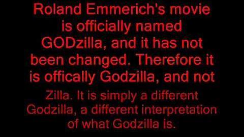 American Godzilla Is Not Zilla!!!!!