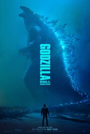 Godzilla King of the Monsters - Official theatrical poster