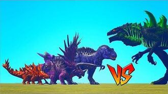 Ark Survival - ALL JP BOSSES vs GODZILLA Ep.93