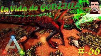 ARK SURVIVAL EVOLVED LA VIDA IMPRESIONANTE DE GODZILLA ! ARRASA POR DONDE PASA! GAMEPLAY ESPAÑOL