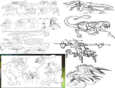 Complete Picture Of All The Unused Monsters