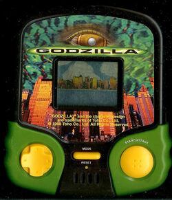 MGA GODZILLA ELECTRONIC HANDHELD TRAVEL ARCADE MOVIE PORTABLE TOY LCD GAME