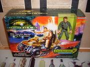 1998 Godzilla Figure with Attack Vehicle