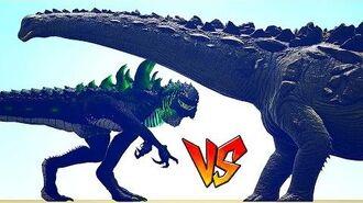 Ark Survival - GODZILLA vs TITANOSAURUS Ep.26