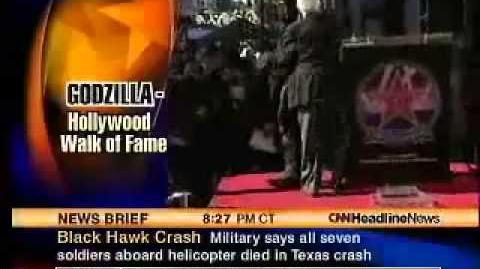 Godzilla - CNN News Report 2