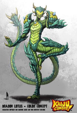 File:Kaiju combat dragon lotus by kaijusamurai-d5ohcnt.jpg