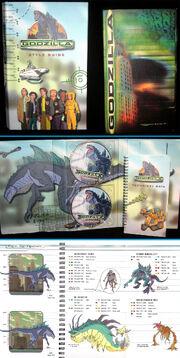 TRENDMASTERS 'Used' but Unreleased Animated Godzilla the Series (& Godzilla 1998 Movie) Style Guide