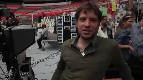 Gareth Edwards From the Set of Godzilla