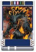 Trading Battle Burning Godzilla