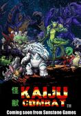 Kaiju Combat the fall of Nemesis (1st release) official cast Character design by