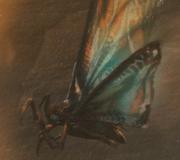 MonsterVerse Mosu in Flight
