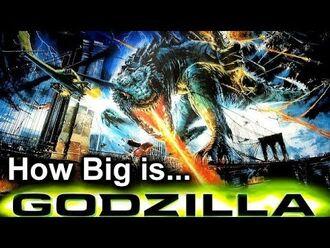 How Big Is Godzilla '98 and Final Wars Zilla? Godzilla Universe