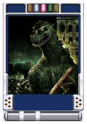 Trading Battle 1st Generation Godzilla