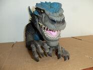 Godzilla hand operated head bust1